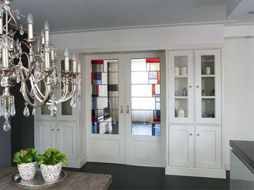 Kamer en suite schuifdeuren ensuite interieurbouw for Schuifdeuren woonkamer