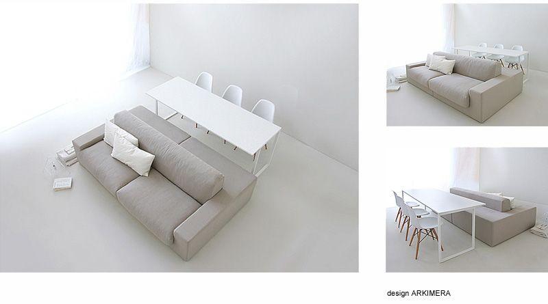 Photo of Innovativo sistema tavolo-divano per open space: Isolagiorno Farm Srl – Layout t…