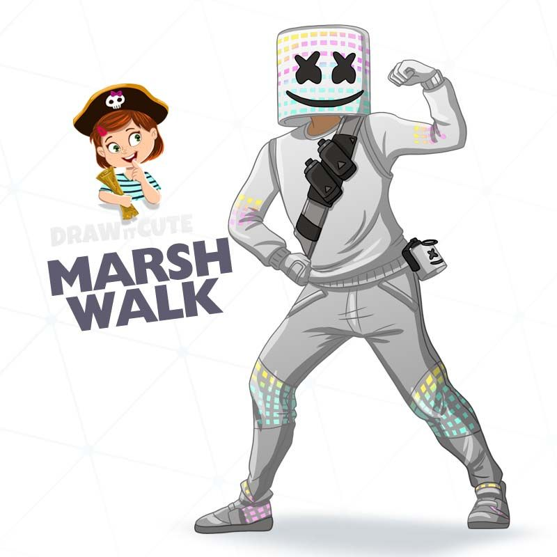 Marsh Walk Draw It Cute Fortnite Fortnitebattleroyale Fortnitememes Draw Drawings Howto Howto Drawing Tutorial Super Easy Drawings Cute Coloring Pages