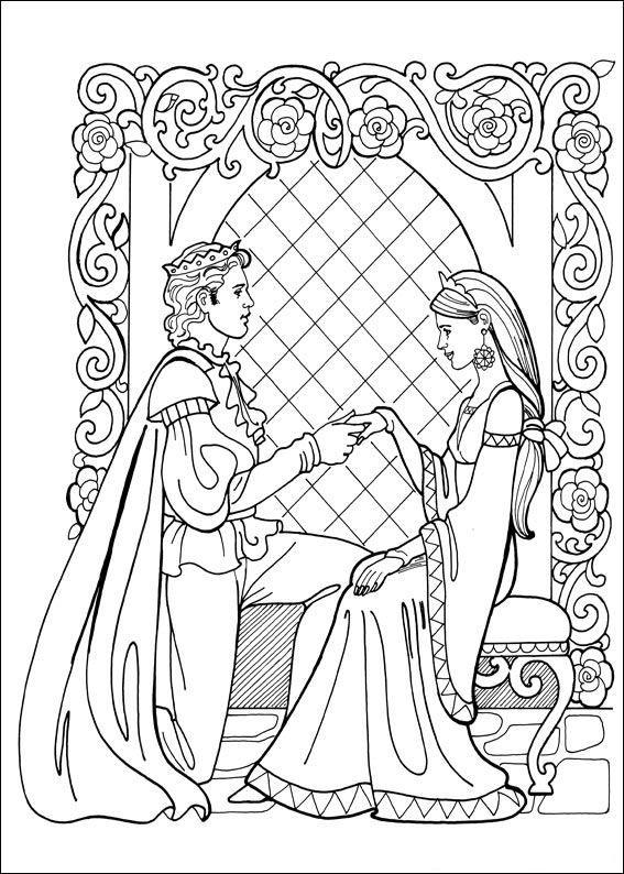 Kleurplaten En Zo 187 Kleurplaat Prinses Leonora Coloring Pages