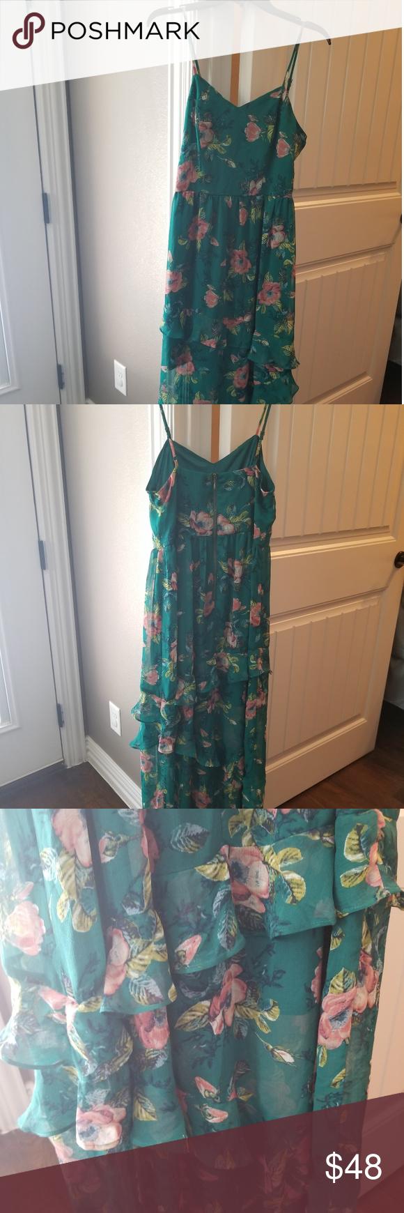 New Xhilaration Maxi Dress Dresses Spaghetti Strap Dresses Xhilaration [ 1740 x 580 Pixel ]