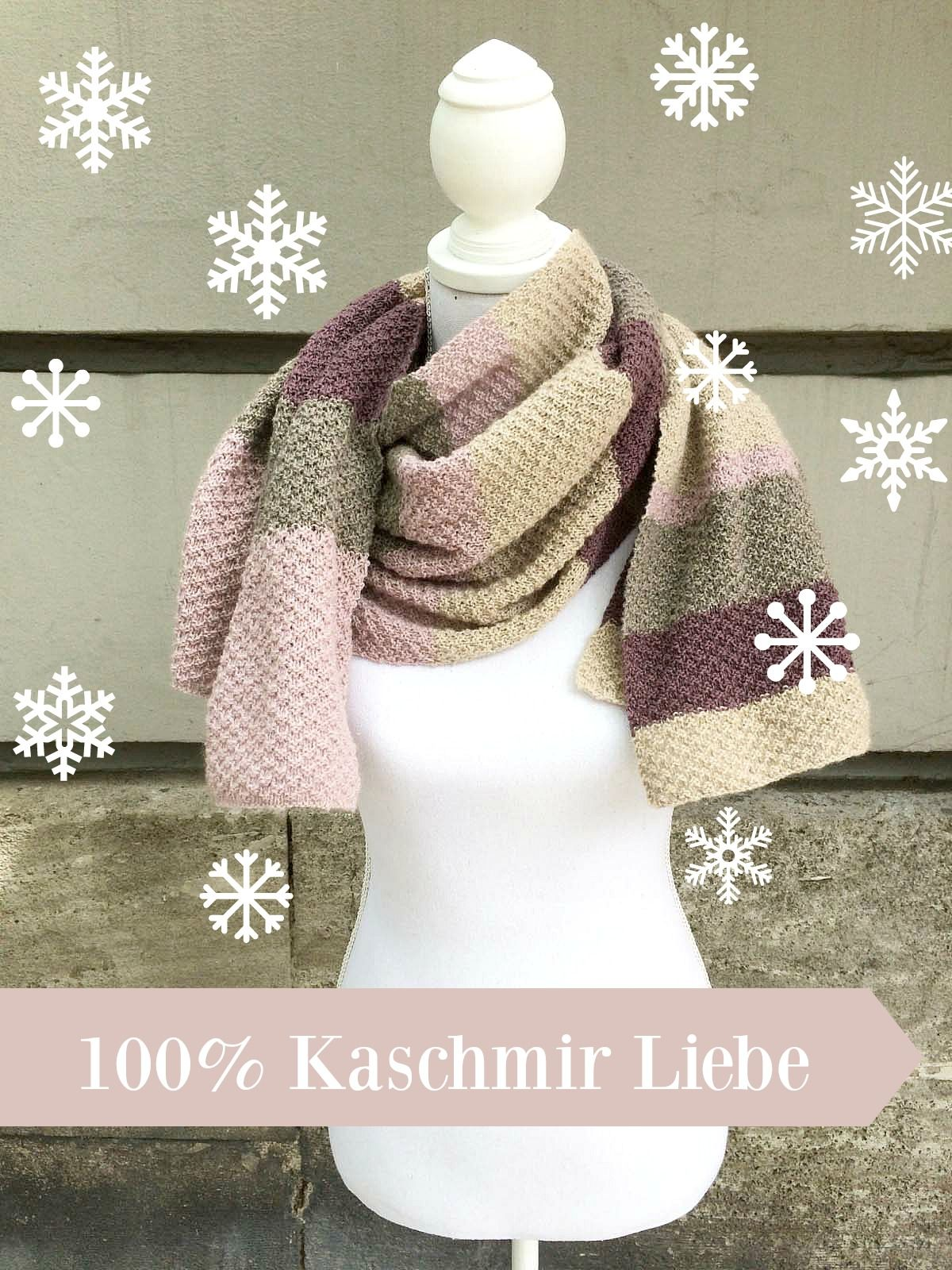 Schaltuch Aus Cashmere Lace Stricken Knitting And Crochet