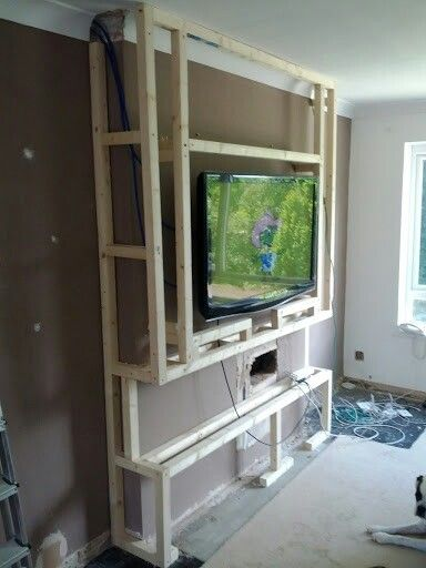 Chimney Breast Șemineu Chimney Breast Living Room Tv