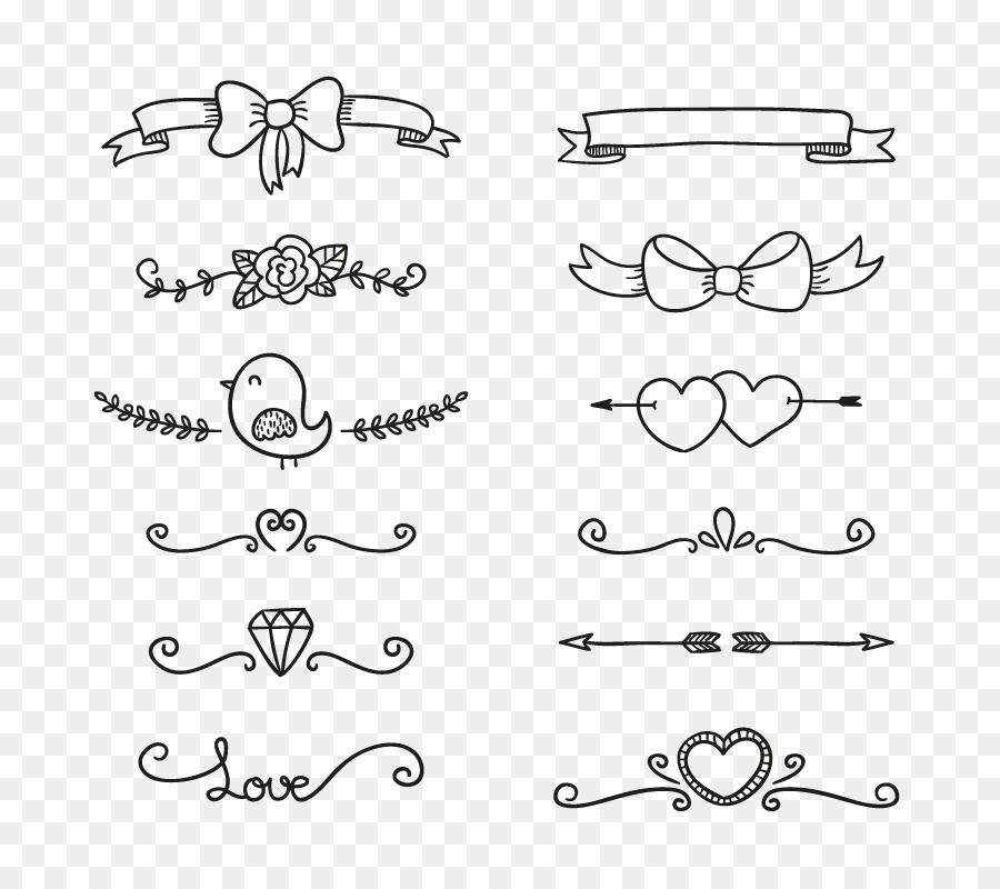 Drawing Doodle Euclidean Vector Vector Decorative Lines Png Is About Is About Square Point Text Body J Book Cover Diy Decorative Lines Calligraphy Doodles
