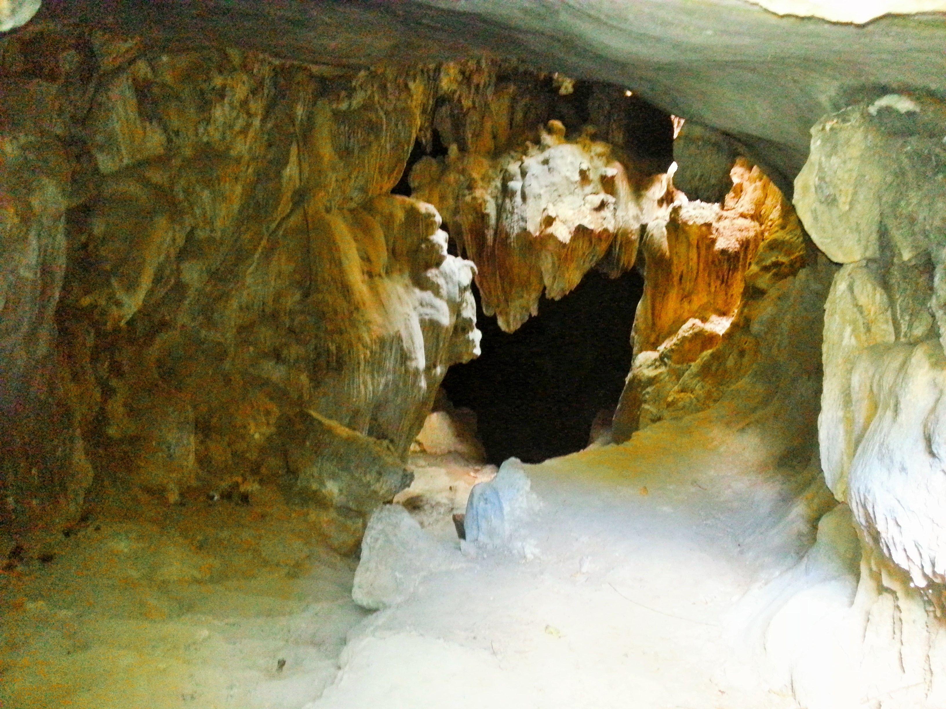 Calinawan Cave is located in Barangay Tandang Kutyo, Tanay
