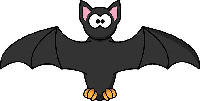 Free Image On Pixabay Bat Wings Halloween Scary Fear In 2020 Cartoon Bat Bat Clip Art Bat Images