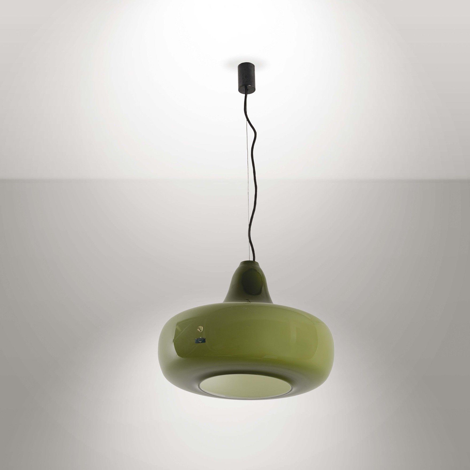 Gino Vistosi; Murano Glass Ceiling Light, c1965.