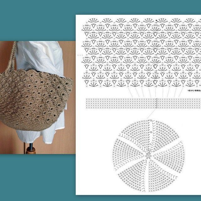 Pin de 장옥희 en 가방 | Pinterest | Carteras en crochet, Bolsos y ...