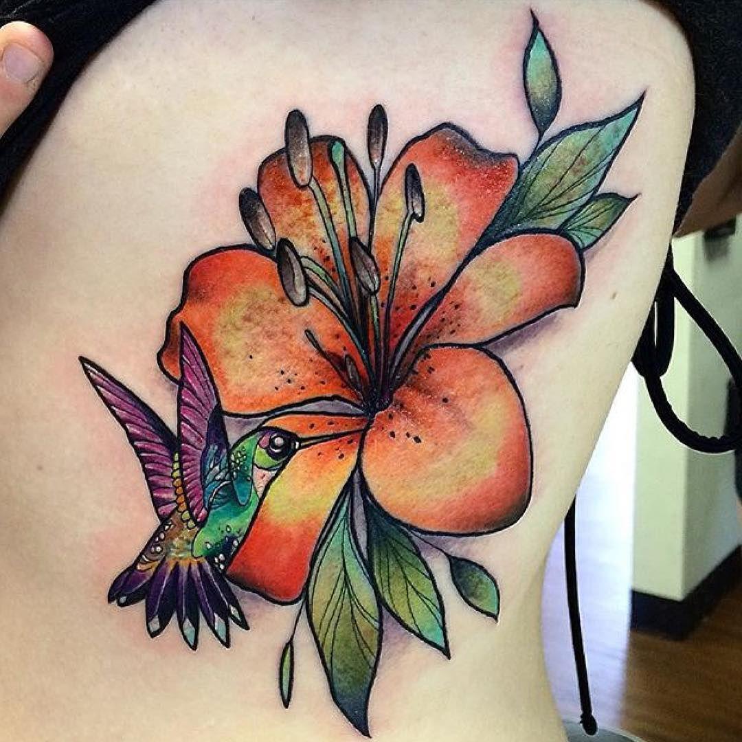 Hummingbird Flower Tattoos: Hummingbird Tattoo, Hummingbird