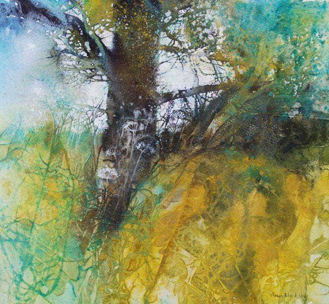 Four Elements Watercolour Artist Tuffytats: Ann Blockley SWA, Marine House