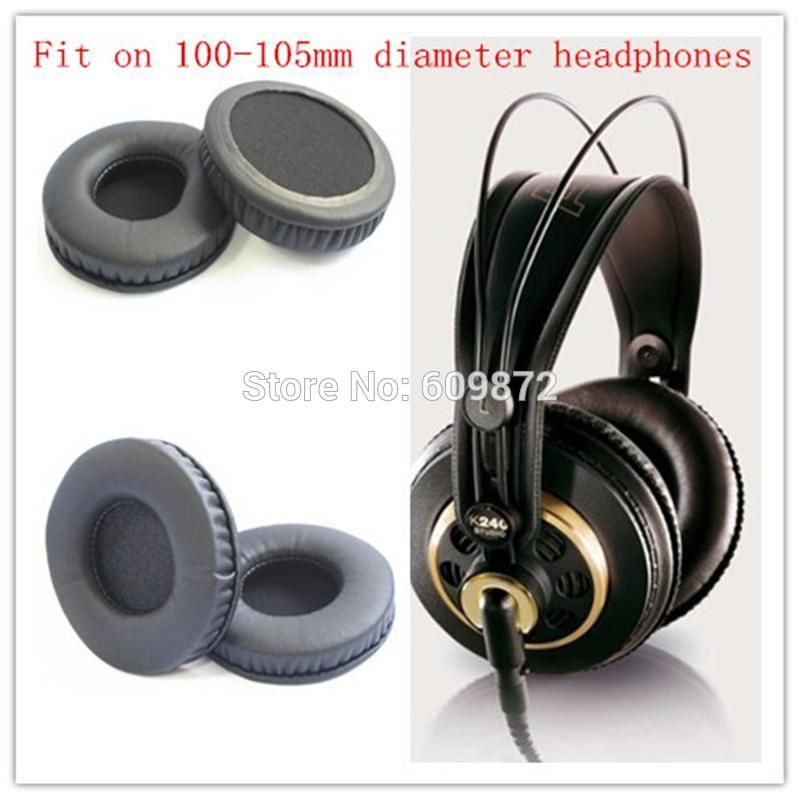 21 Off 100 105mm Protein Ear Cushions Headphone Leather Earpads
