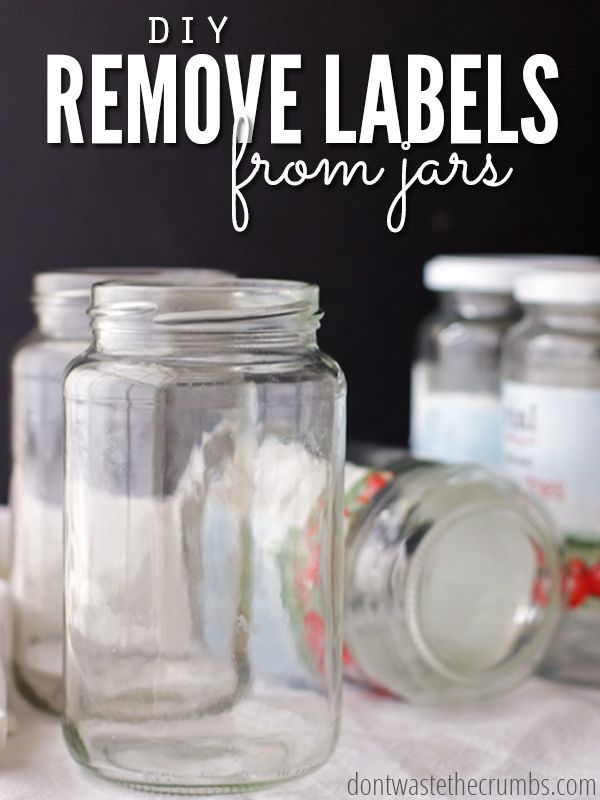 Photo of Remove Labels from Jars: A Simple DIY with One Ingredient