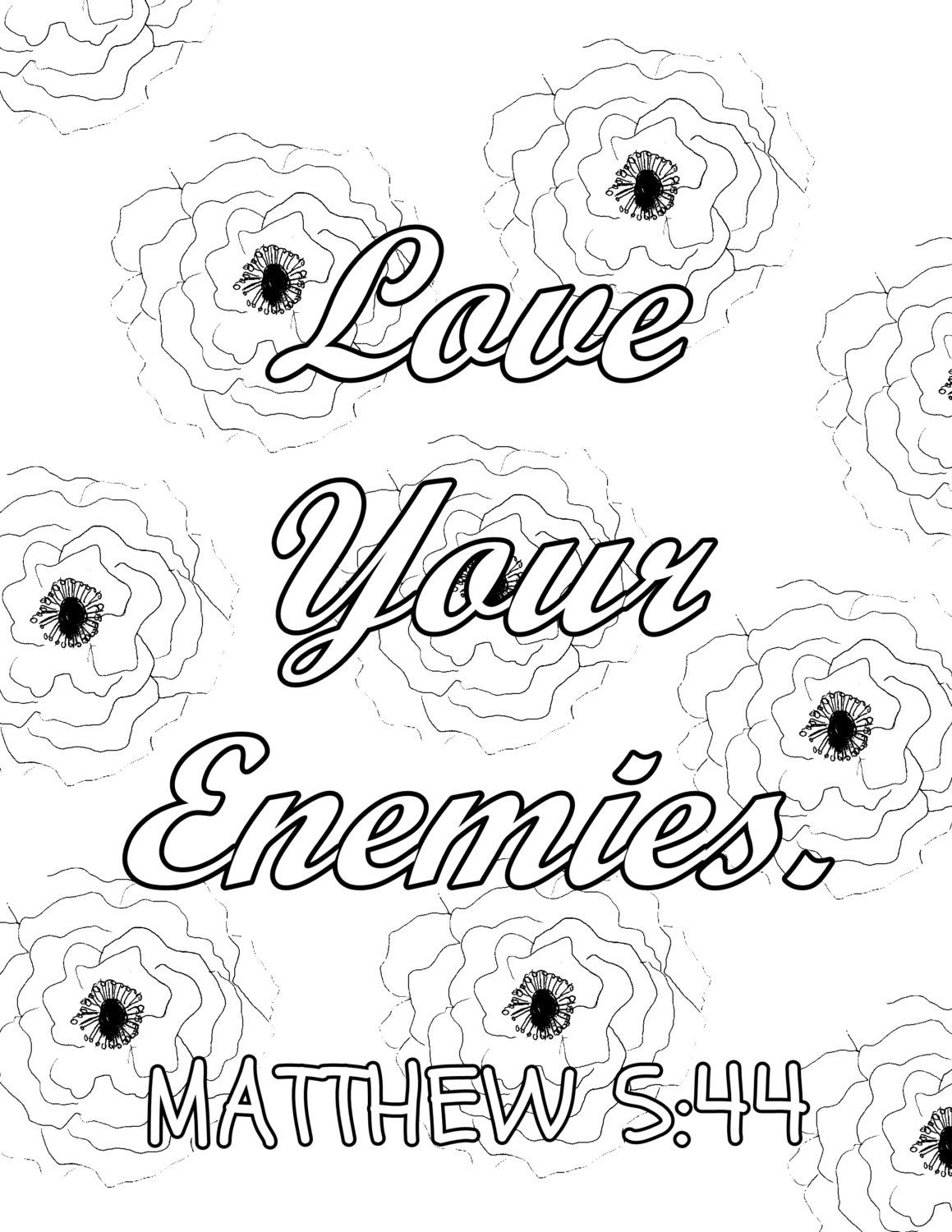 Bible Coloring Page 14 Bible Quotes Coloring Pages Bundle Faith Mindfulness And Hope Christians Colorin Quote Coloring Pages Bible Coloring Pages Bible Quotes