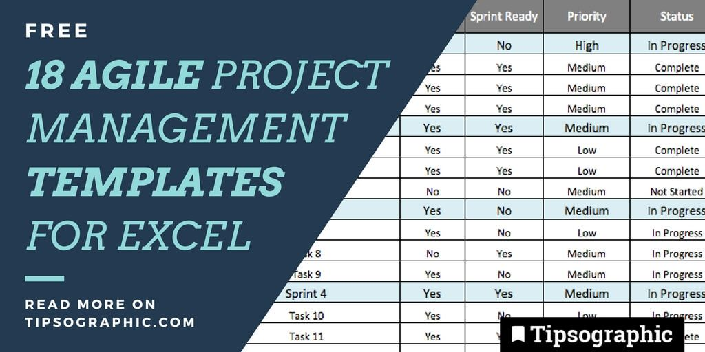 18 Jackpot Agile Project Management Templates For Excel Free Best
