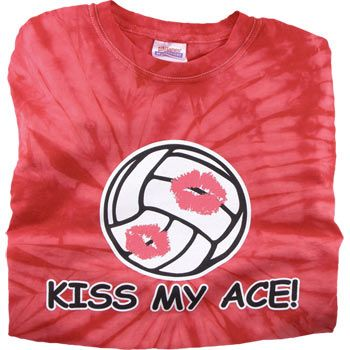 Kiss My Ace Volleyball Tshirts Volleyball Outfits Volleyball Shirts