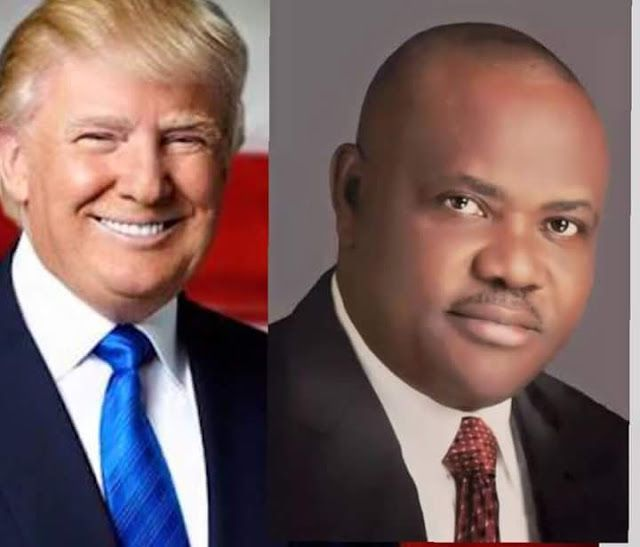GOVERNOR WIKE CONGRATULATES TRUMP   Rivers State Governor  Nyesom Ezenwo Wike has congratulated the incoming President of United States of America  Mr Donald Trump on his victory at the US Presidential Poll.  Addressing journalists at the Government House  Port Harcourt on Wednesday  the governor said that the victory of Mr Trump is a victory of the people over the forces of propaganda and lies.  He said that the people of the United States stood by their beliefs and conviction  despite the…
