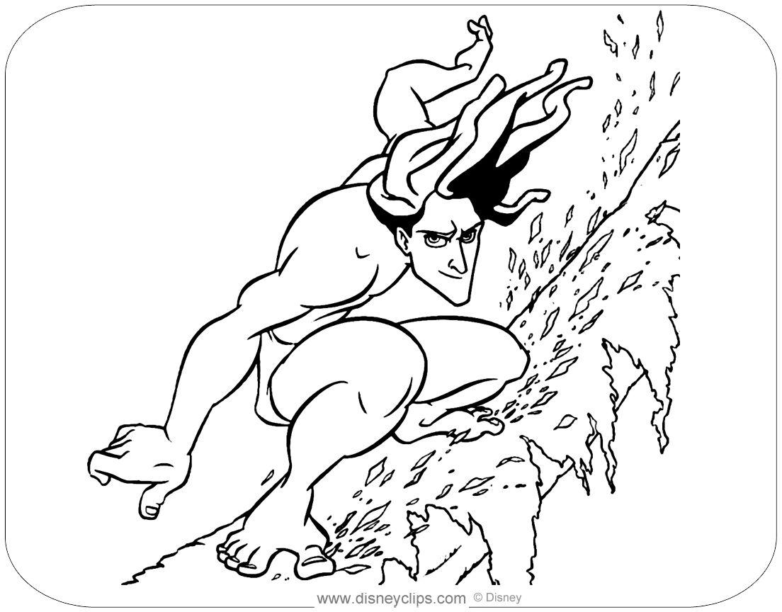 Disney Tarzan Coloring Pages Disney Tarzan And Jane Coloring Pages Disney Tarzan Coloring Pages Coloring Pages For Kids Unicorn Coloring Pages Cool Cartoons