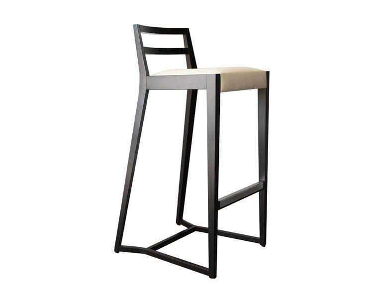 Fantastic Taburete Alto De Cuero Pourparler 191 Coleccion Pourparler Machost Co Dining Chair Design Ideas Machostcouk