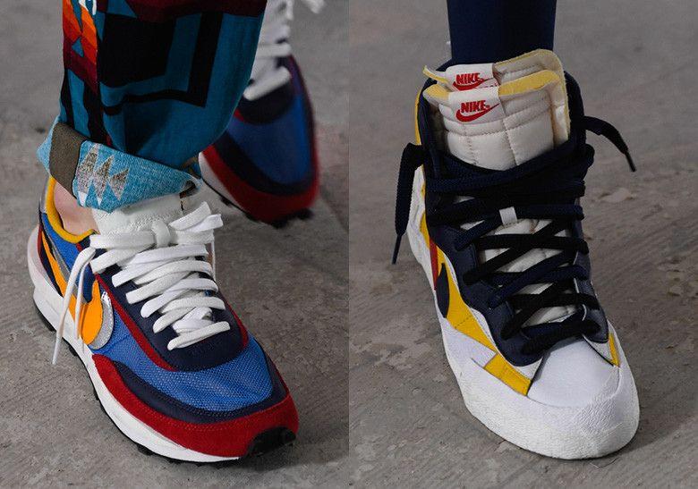 reputable site c0c03 802c8 Sacai Nike LDV Waffle Blazer Dunk SS19 Fashion Week  thatdope  sneakers   luxury  dope  fashion  trending