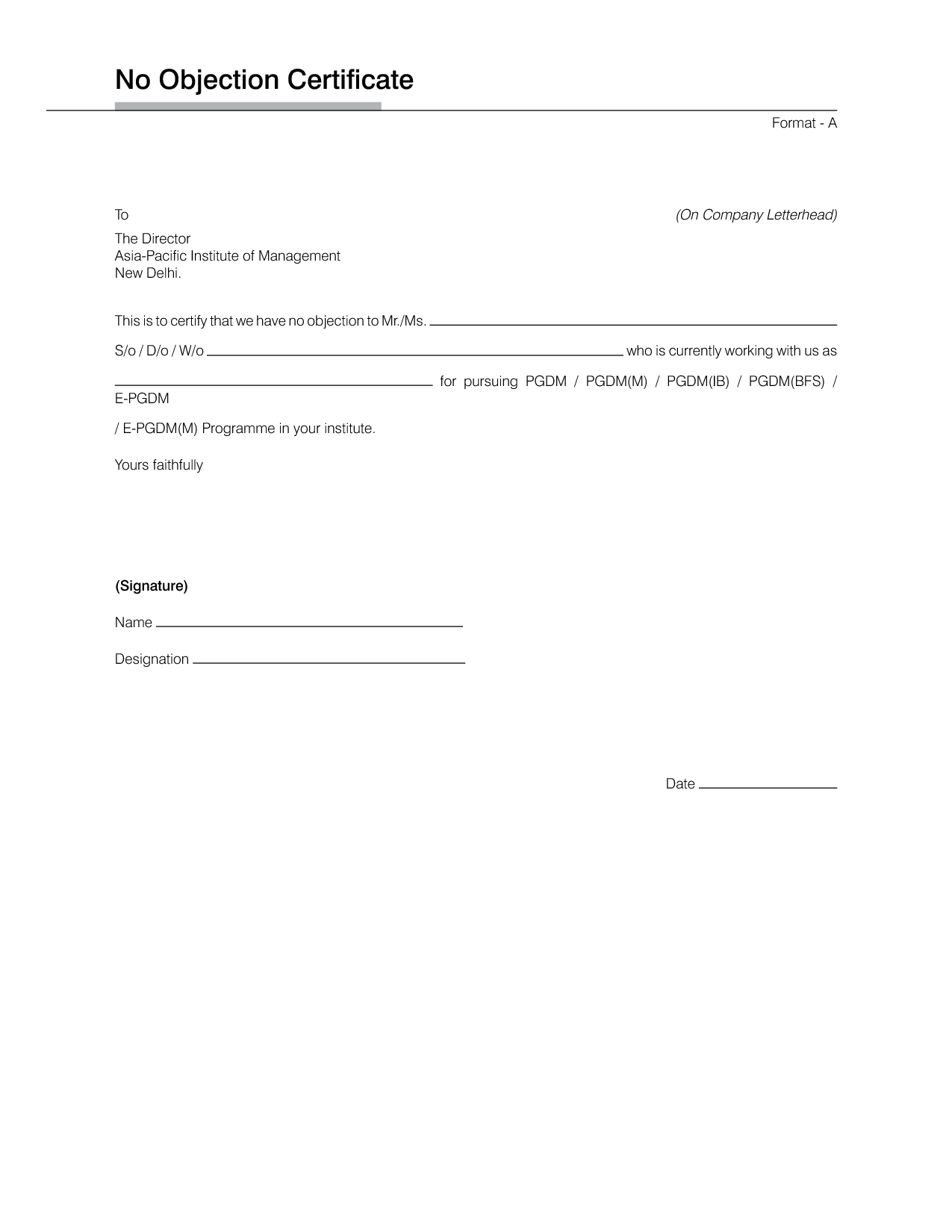 Certification employment letter example leading noc for job business certification employment letter example leading noc for job business sale contract template free flyer sales resume friedricerecipe Images