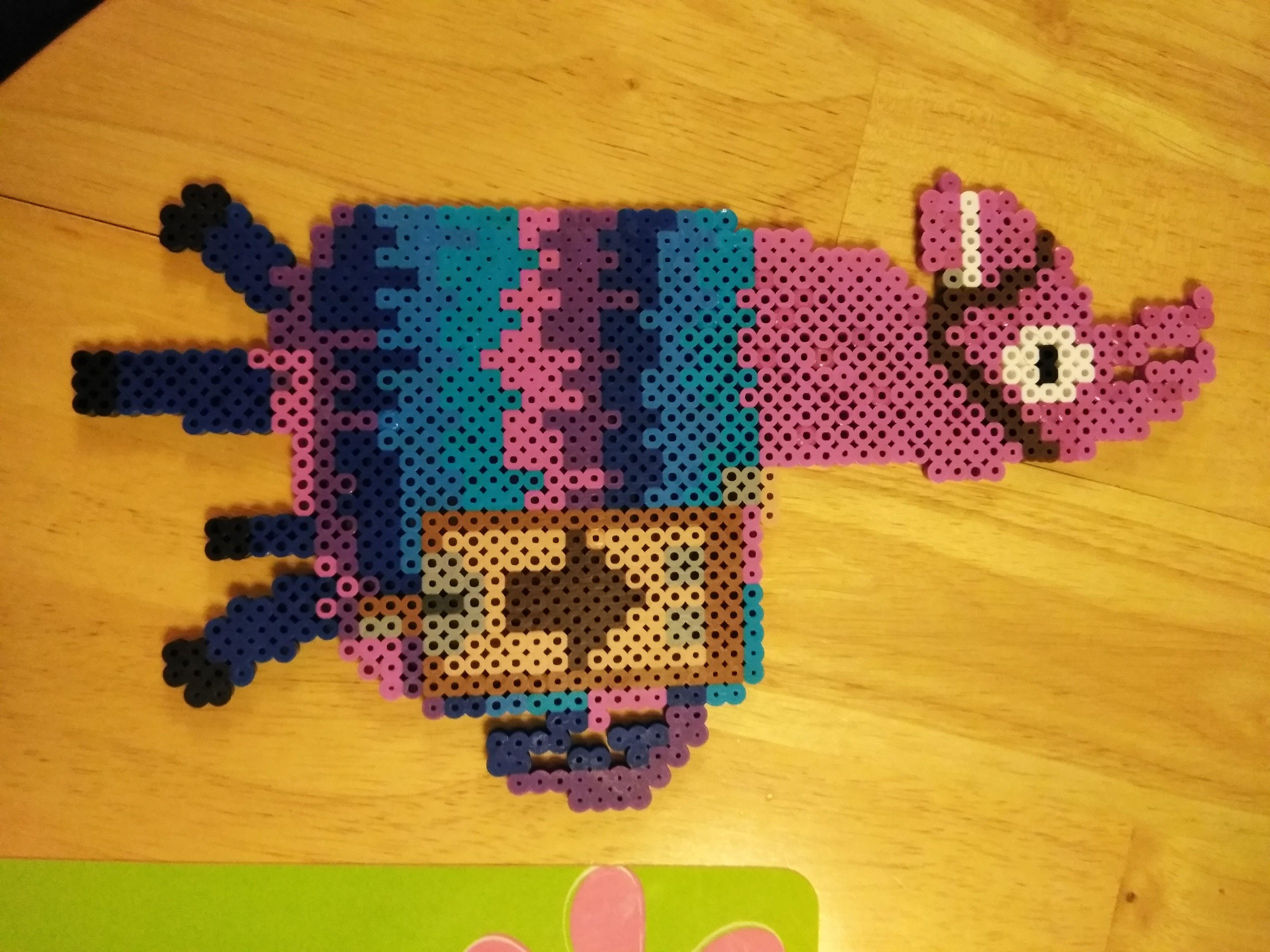 26a2c06806e57 Fortnite Llama made with perler beads | perler breads | Perler beads ...