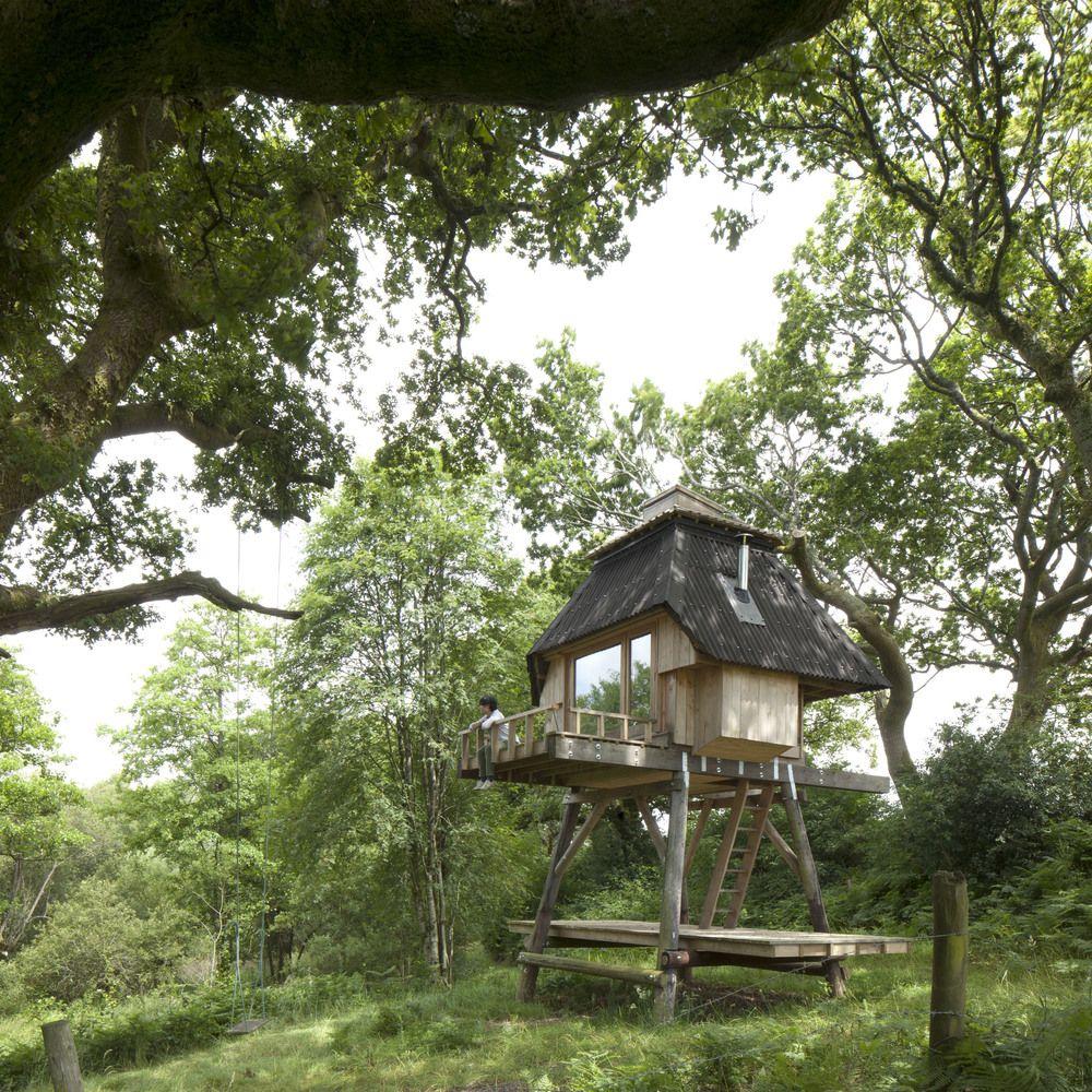 Tiny houses on stilts - Wooden Little House On Stilts