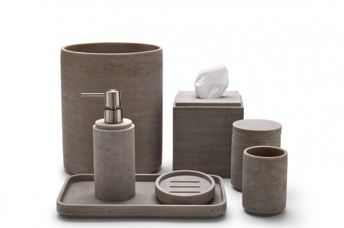Urban Concrete Accessories Bath Accessories Catalog Waterworks Bathroom Accessories