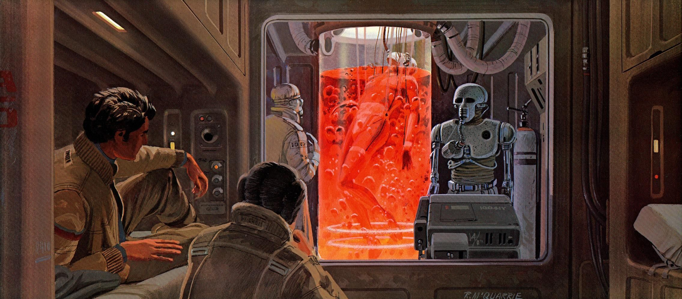 Star Wars Stormtroopers Fantasy Art Artwork Bwing Down: Ralph Mcquarrie Star Wars Concept Art Wallpaper Star Wars
