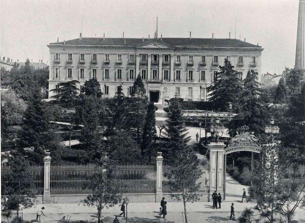 Ministerio de Guerra. Madrid