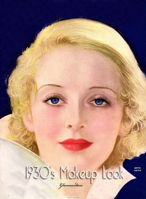 hair style photoshop 1930s makeup look og puder 3719