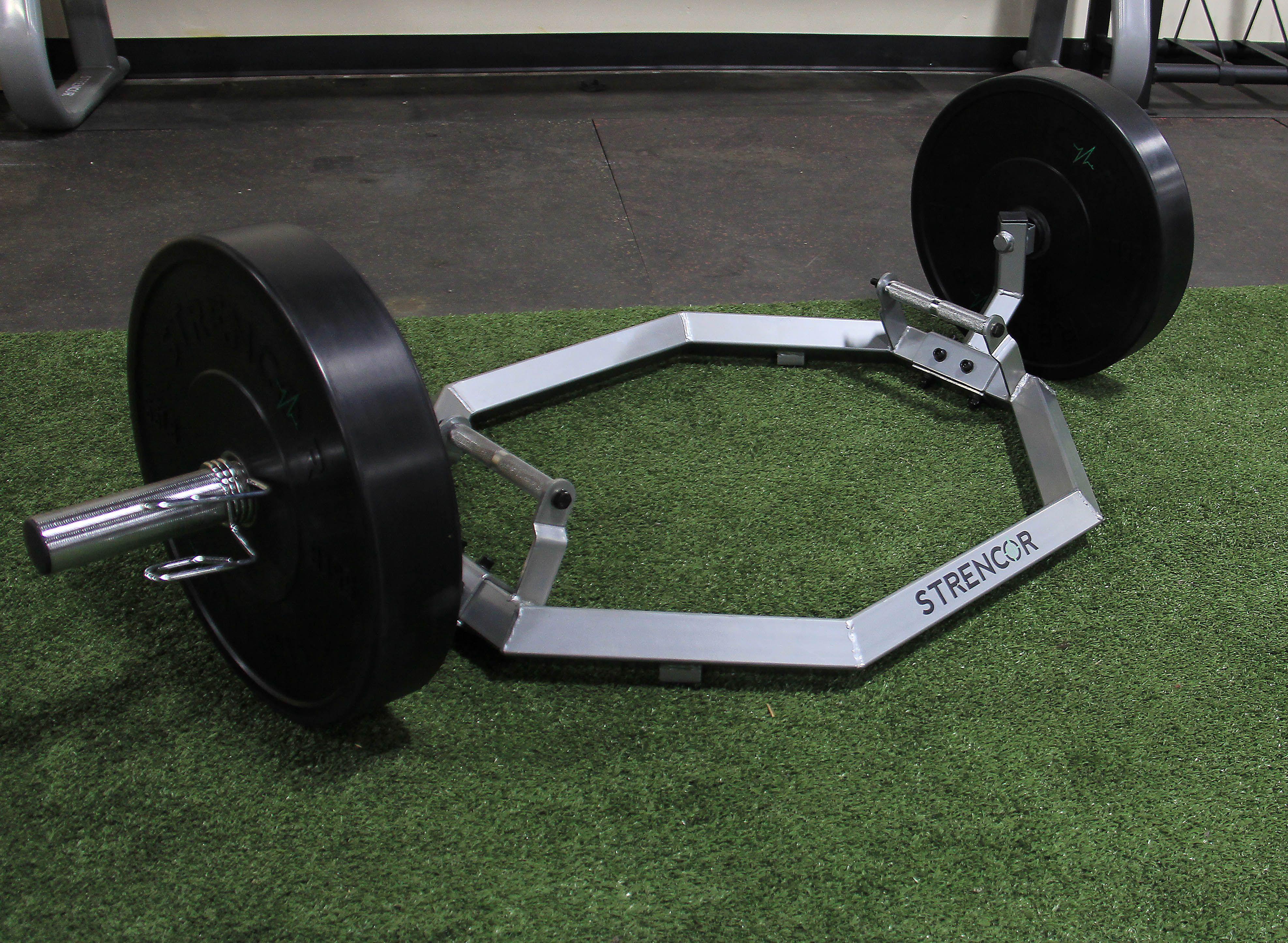 Strencor Bolt Together Hex Bar Deadlift Crossfit Equipment Gym Design