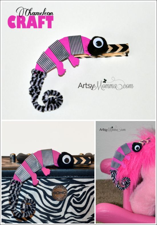 A Color of His Own: Chameleon Craft and Game | Chameleon craft ...