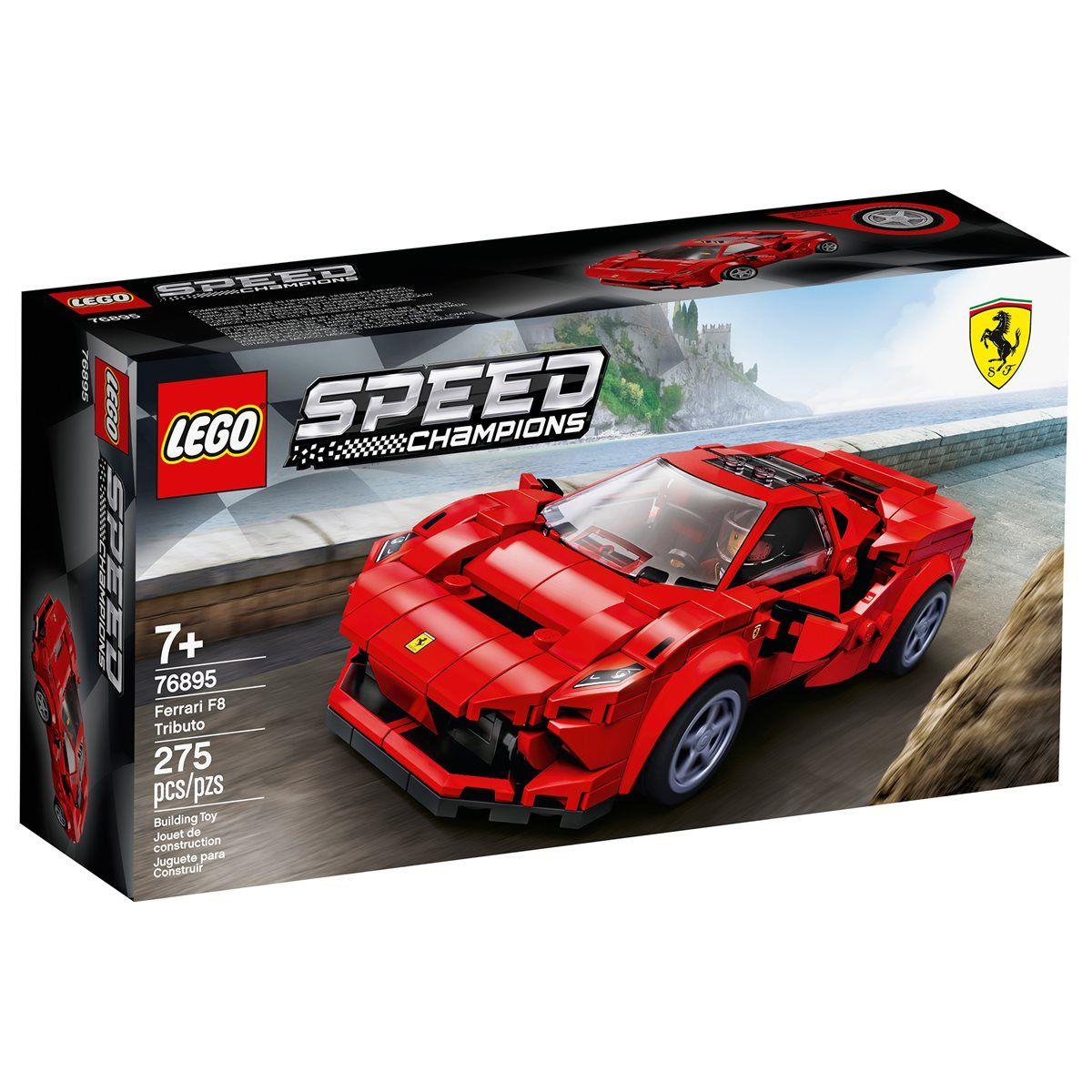 Lego 76895 Speed Champions Ferrari F8 Tributo Lego Speed Champions Toy Model Cars Toy Car