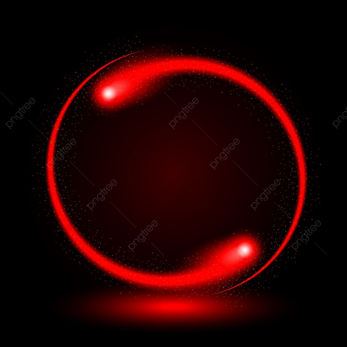 Abstract Circle Light Red Frame Vector Background Red Circle Light Png And Vector With Transparent Background For Free Download Vector Background Circle Light Red Frame