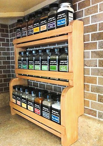 Build Countertop Spice Rack Plans Diy Diy Wood Planter Countertop Spice Rack Spice Rack Plans Kitchen Spice Storage