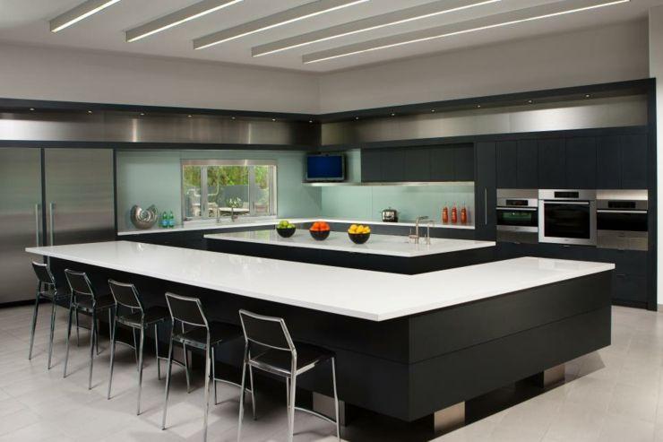 Imagenes cocinas modernas y funcionales con estilo pinterest encimeras blancas cocina Imagenes cocinas blancas