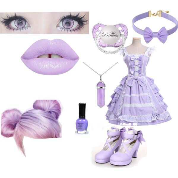 Purple by rayofdarkness on Polyvore featuring polyvore, fashion, style, Vanessa Mooney, Lord