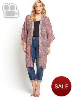 So Fabulous Longline Kimono