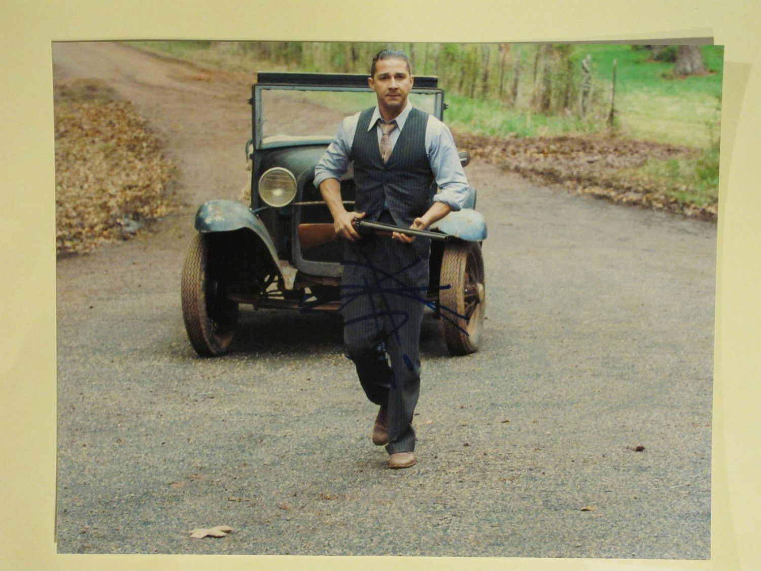 Shia Labeouf Signed Autographed Lawless 11X14 Proof Movie