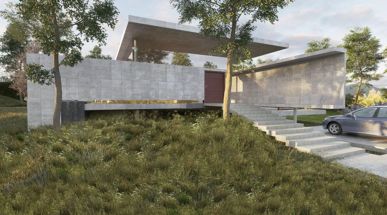 Guaparo House 03 850x472 NMD NOMADAS Design a Contemporary Home in Valencia, Venezuela