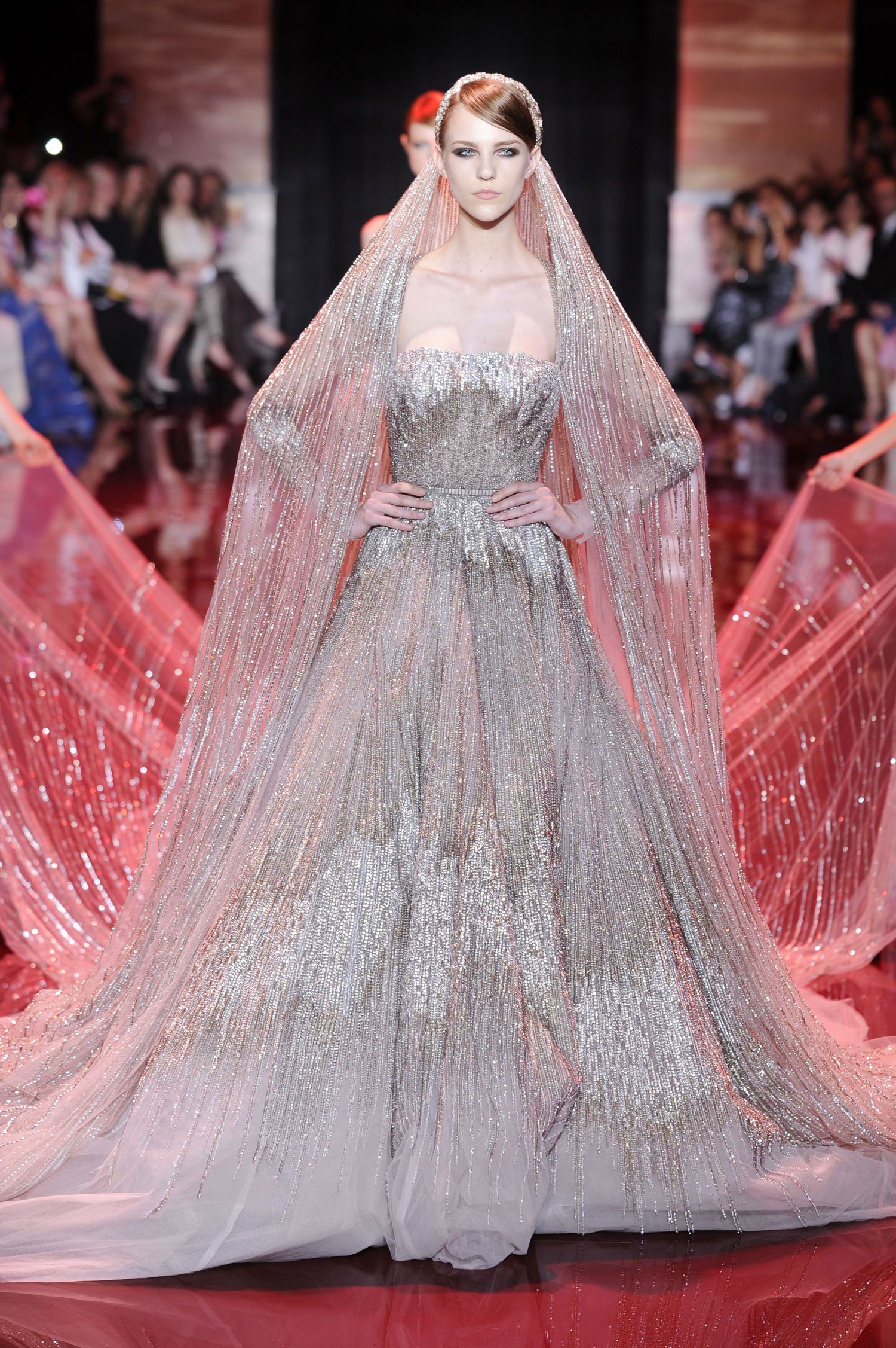 Haute Couture Wedding Gowns Eliesaabweddingdressesweddinggownshaute Couturefall20130710: Haute Couture Wedding Dress Sitting At Reisefeber.org