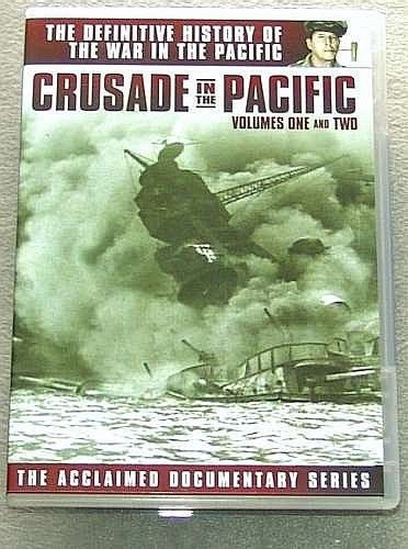 CRUSADE in the PACIFIC military VOL 1 & 2 war WWII
