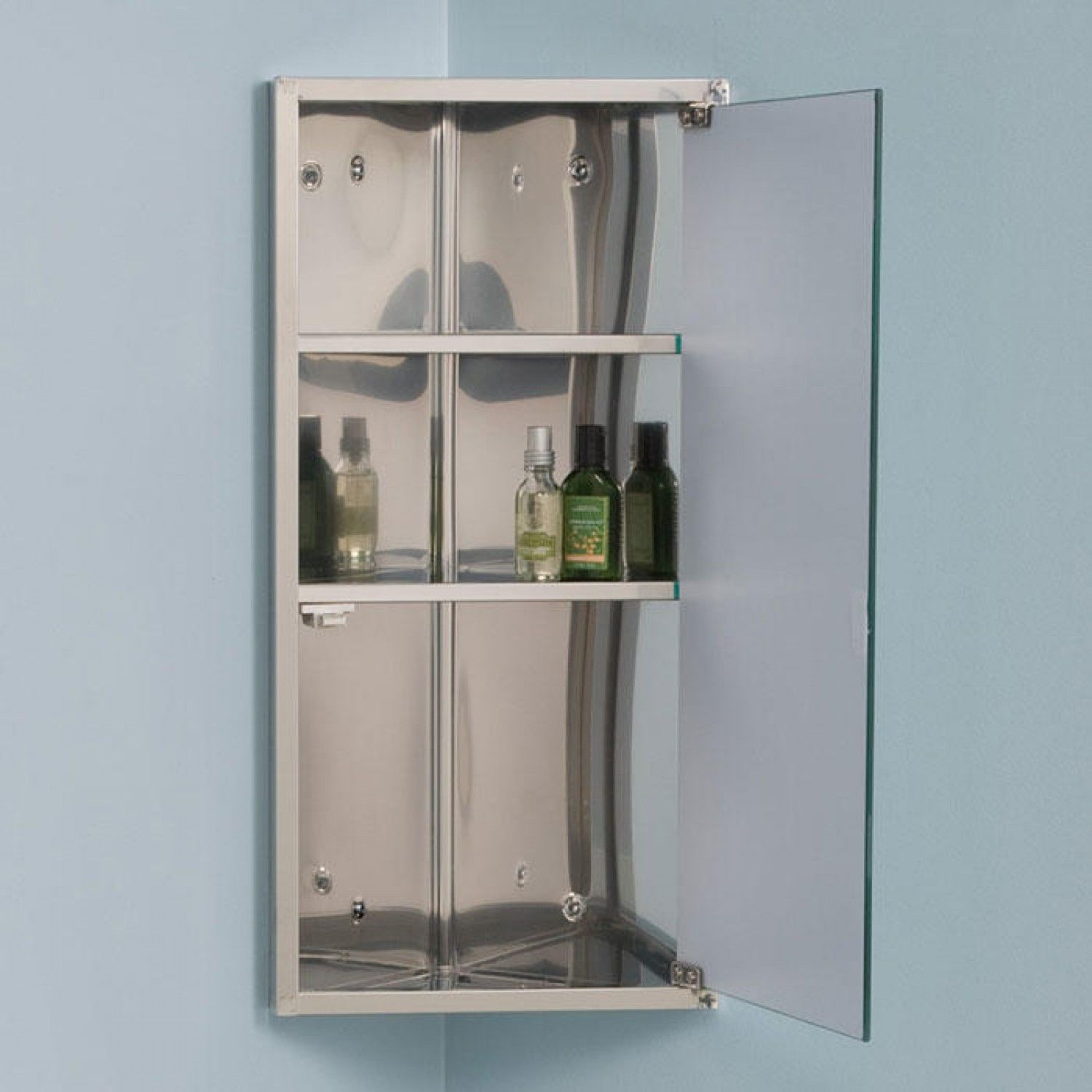 corner bathroom medicine cabinet mirrors | ideas | Pinterest ...