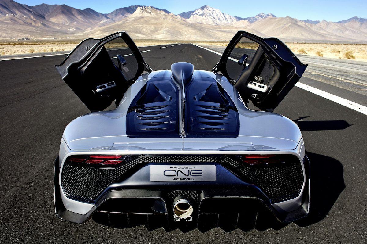 Öppet sinne. Öppna dörrar. Bilen som förändrar allt. Mercedes-AMG Project ONE. #mercedesamg