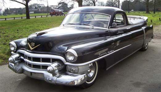 1953 Cadillac Superior Flower Car Funeral Wheels Cadillac Cars