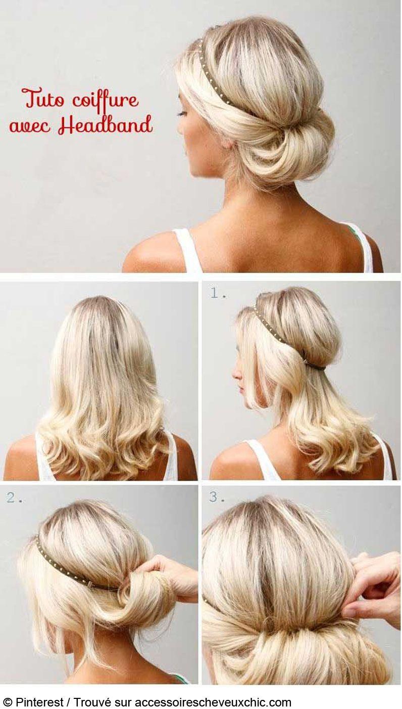 coiffure,express,pour,mariage,,Trouvé,sur,accessoirescheveuxchic.com