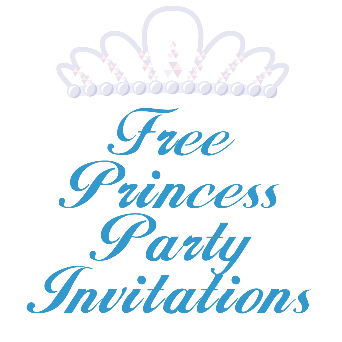Free Princess Birthday Party Invitation Templates | Party invitation ...