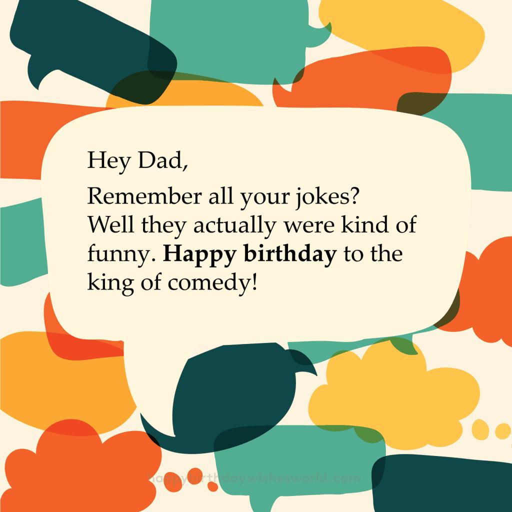 Happy Birthday Dad And Keep Up The Dad Jokes Happy Birthday Images Happy Birthday Dad Birthday Images