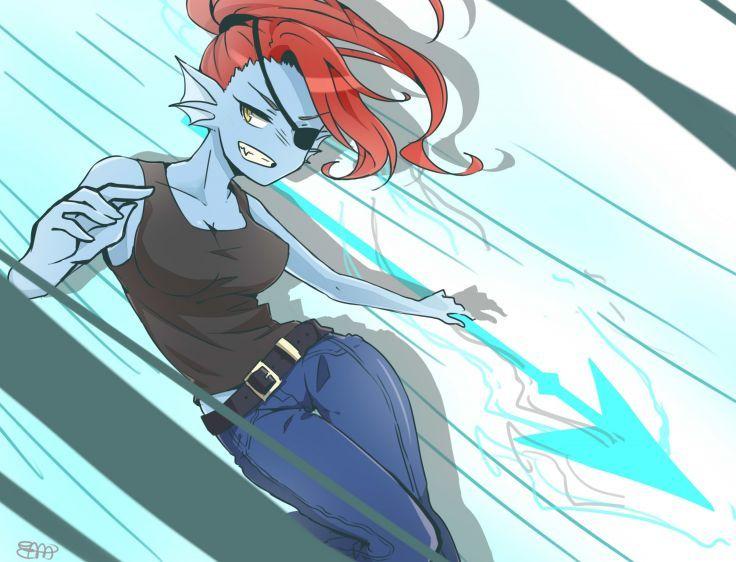 Anthropomorphism Cropped Undertale Undyne Wallpaper 2300x1755 830521 Undertale Anime Undertale Undertale Background