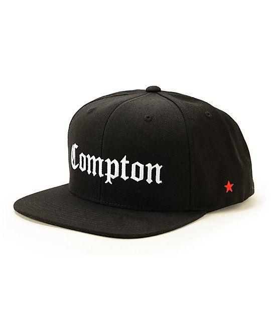 41f223b9a SSUR Compton Black Snapback Hat | Clothing | Black snapback hats ...